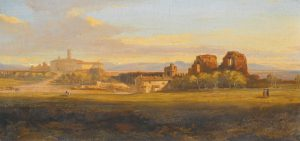 'A_View_of_the_Roman_Campagna,_a_Villa_and_Aqueduct_in_the_Distance'_by_Edward_Lear